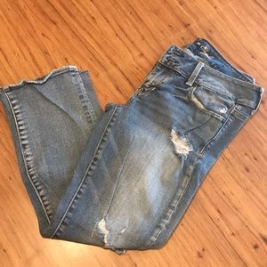 Gently worn American Eagle Artist Crop Size 8
